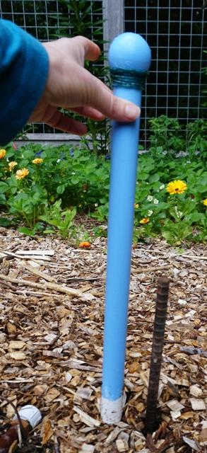 small hose guard and rebar